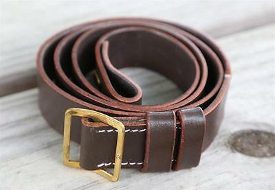 """1.25"""" Brown Leather Rifle Gun Sling Winchester Remington Marlin Ruger Savage"""
