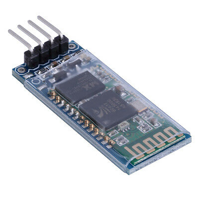 HC-06 4 Pin Serial Wireless Bluetooth RF Transceiver Module For Arduino QT