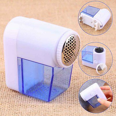 Electric Mini Fuzz Cloth Pill Lint Remover Wool Sweater Fabric Shaver Trimmer QT