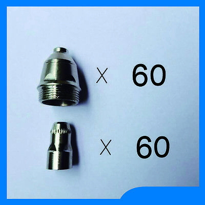 plasma cutter accesories= 120 pcs P80 torch consumables Cutting electrode tips