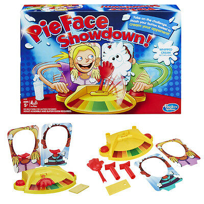 Pie Face Showdown Game - Fun Filled Family Game Of Suspens Xmas Christmas Gift