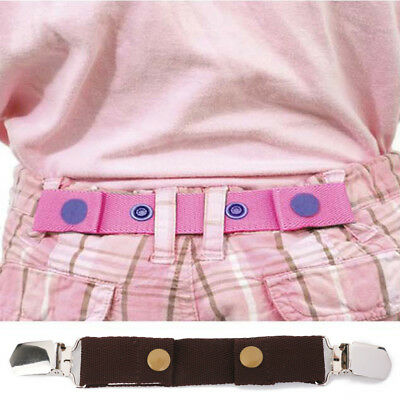 Dapper Snappers Buckle Clip Belts Kids Pants Jeans Waist Adjustable