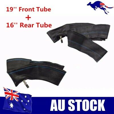 "2.75 - 19"" inch front tyre inner tube + 100/90 - 16'' rear inner tube dirt bike"