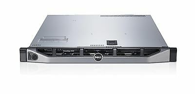 SERVER DELL POWEREDGE R610 XEON QUAD CORE RAM 16GB HD SAS 2x146GB