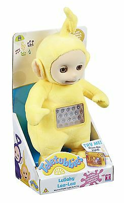 Teletubbies Lullaby Laa Laa Musical Night Light Soft Toy Brand New