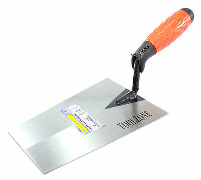 180mm Bucket Trowel with Soft Grip Handle Bricklaying    TZ BL047