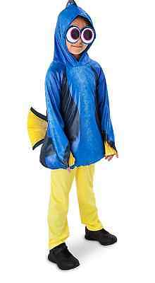 AUTHENTIC DISNEY Dory Costume for Kids - Finding Dory Size 5-6 NWT