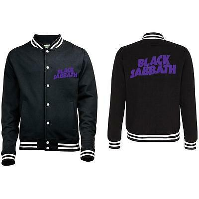 Official Licensed - Black Sabbath - Master Of Reality Varsity Jacket Metal Ozzy