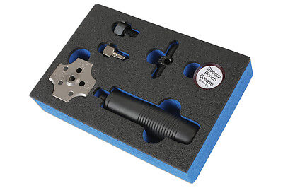 "HAND BRAKE PIPE FLARING TOOL FOR USE IN-SITU ON VEHICLE 3/6"" PIPE 4.75mm SAE DIN"