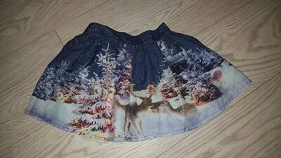 Girls Winter Wonderland Christmas Skirt- AGE  6-9 months, Brand New - party