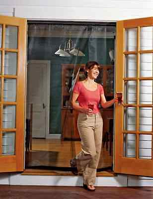 OpenBox Bug Off 72R by 80 Instant Screen - Reversible Fits French Doors and
