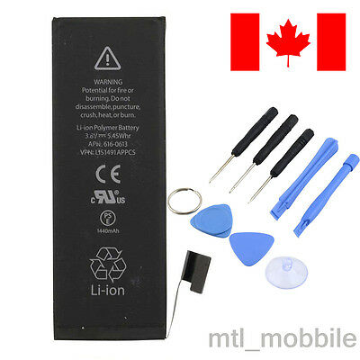 Brand new Original genuine OEM Replacement battery for iphone 5 1440mah Kit