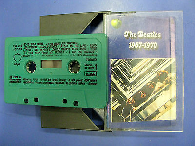 Musicassetta The Beatles ‎1967-1970 Apple 1973 italy 3c 24405309-A2