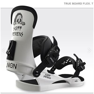 Union Contact Scott Stevens Attacchi Fw 2017 M L New Bindings Snowboard