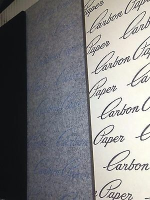 """100 Carbon Paper Sheets 8.5 X 11"""" Typewritter Tattoo Stencil Skin Wood Crafts A+"""