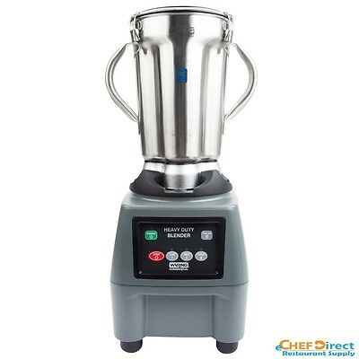 Waring CB15 1 Gallon Stainless Steel Bowl Commercial Food Blender