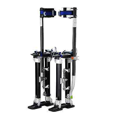 Pentagon Tools 18-30 Inches Black Drywall Stilts Light Equipment Tough Aluminum