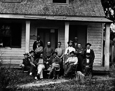 New 11x14 Civil War Photo: Provost Marshal Headquarters in North Carolina