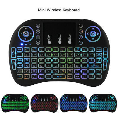 2.4G Mini Wireless Keyboard Mouse Touchpad Remote Control For Smart TV PC AC508