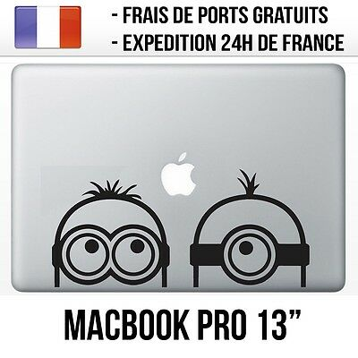 "Sticker Macbook Pro 13"" - Minions Regard"