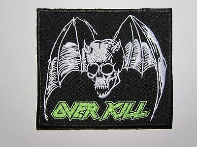 OVERKILL embroidered logo NEW patch