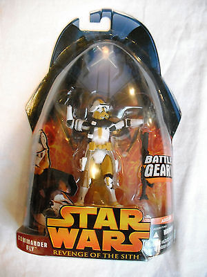 Star Wars Revenge of the Sith Commander Bly Battle Gear #57 MOSC