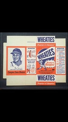 1951 Wheaties Stan Musial Mint Unassembled Box