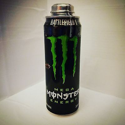 Monster Energy Drink Battefield 1 Commemorative Can w/ BattlePack Code - EMPTY