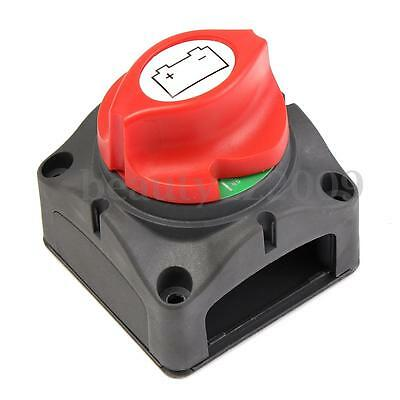 Marine Boat Knob Battery Master Isolator Cut Off Power Switch Control 12/24V