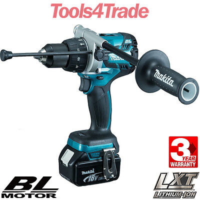 Makita DHP481Z 18v LXT Lithium-Ion Combi Hammer Drill With 1 x 5.0Ah Battery