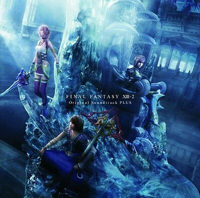 kb09 FINAL FANTASY XIII-2 Original Soundtrack Plus Japan PS3 XBox Game Music CD