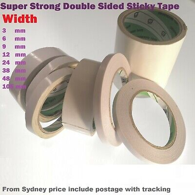 Double Sided Tape Super Strong Sticky 6mm x 10M -Scrapbooking Craft&Invitation