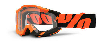 100% Accuri Wildblast Brille in orange MX Enduro Offorad MTB DH Goggle
