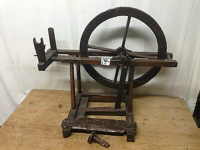 Antico Arcolaio Filarello Filatoio Antique Wood Spinning 1800