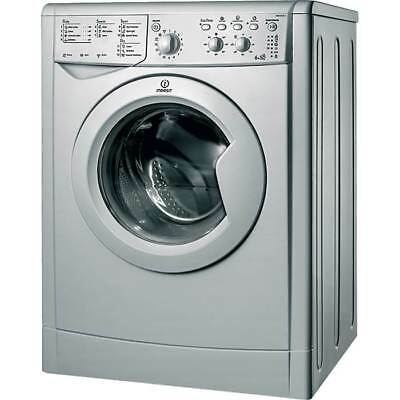 Indesit IWDC6125S 1200 Spin 6+5Kg 16 Programmes Washer Dryer in Silver New