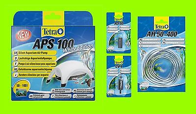 Tetra APS 100 SET Aquarienluftpumpe White Edition Luftpumpe für 50-100l Aquarium