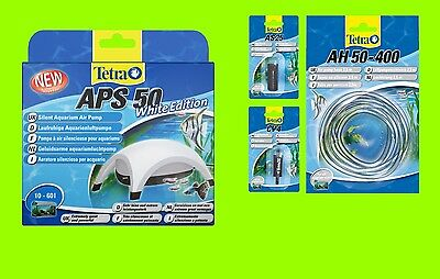 Tetra APS 50 SET Aquarienluftpumpe white Edition Luftpumpe für 10-60l Aquarium