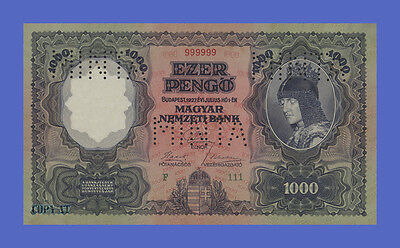 HUNGARY - 1000 Pengo 1927s - Reproductions - See description!!!