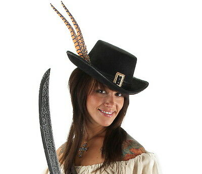 Pirates of the Caribbean Angelica Deluxe Licensed Hat Costume Accessory, NEW