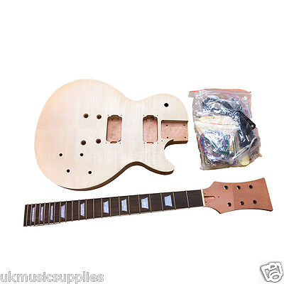 LP x 3 types Pre-drilled for Student & Luthier Electric Guitar DIY KITS UKMS