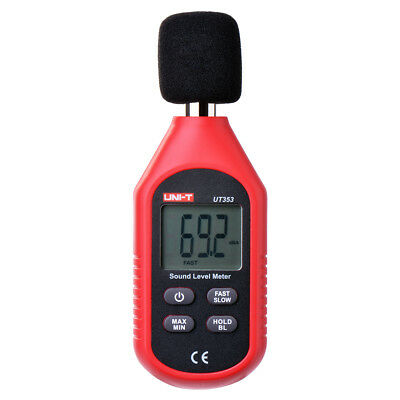 Portable Digital Sound Level Meter Noise Decibel Monitoring Tester Reader BI526