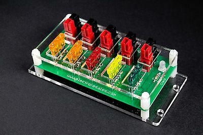 """ElectroResales """"Outrigger 4"""" -  12 Volt DC Fused Power Pole Panel  (RigRunner)"""