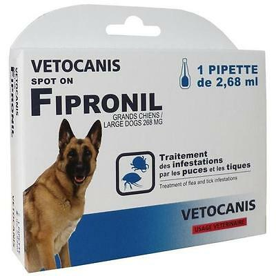 Vetocanis Pipette Spot-On Fipronil - Pour Grand Chien B