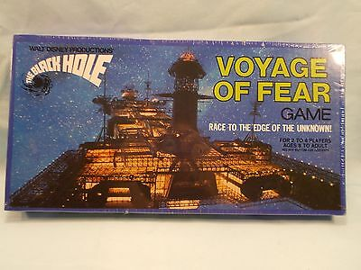 Vintage 1979 Whitman Walt Disney The Black Hole Voyage Of Fear board game SEALED
