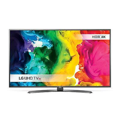 "LG 55UH661V 55"" Ultra HD 4K Smart LED TV Freeview HD + Freesat HD HDMI USB Ports"