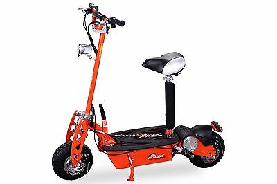 E-Scooter scooter Electric eFlux Freeride 1000Watt 48V Light and Freewheel