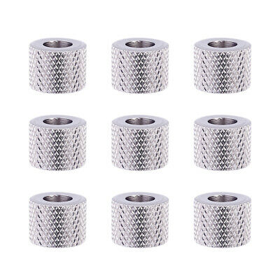 10pcs 304 Stainless Steel Metal Beads Column Large Hole Loose Spacers Craft 12mm