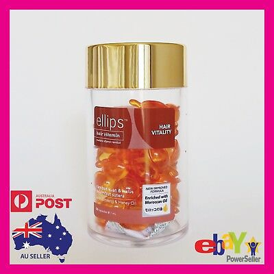 "Ellips Hair Serum ""HAIR VITALITY"" Capsules - Moroccan Oil & Vitamins"