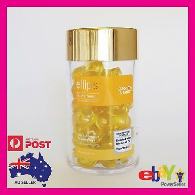 "Ellips Hair Serum ""SMOOTH & SHINY"" Capsules - Moroccan Oil & Vitamins"