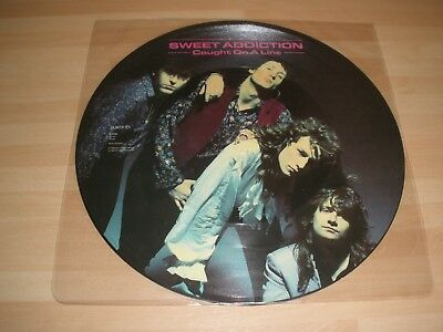 """Sweet Addiction 12"""" Picture Vinyl Single Caught On A Line Ex """""""